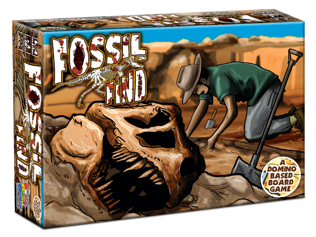 Fossil Find Domino Based Board Game